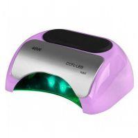 Lampa PROFESSIONAL 2v1 UV LED+CCFL 48W TIMER+SENSOR fialová (AS)
