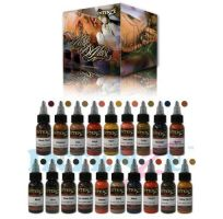 Sada tetovacích barev Intenze Mike DeMasi Set 19x30ml (K)