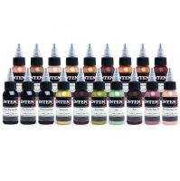 Tetovací inkousty Intenze Ink Andy Engel Essentials Set 19 x 30ml (K)