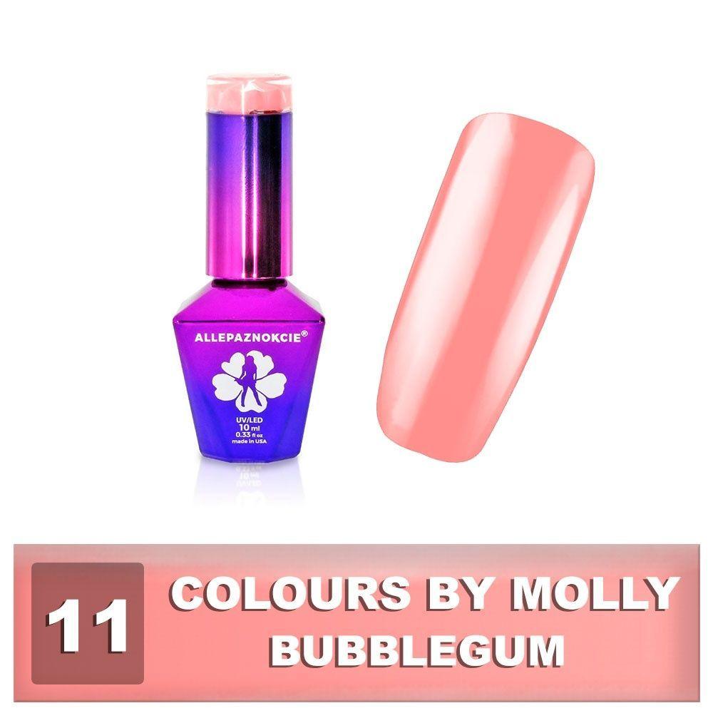 Gel lak Colours by Molly 10ml - Bubblegum