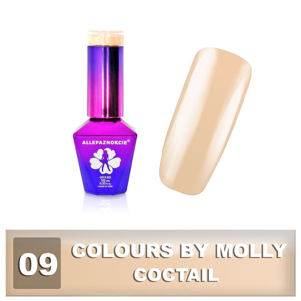 Gel lak Colours by Molly 10ml - Coctail