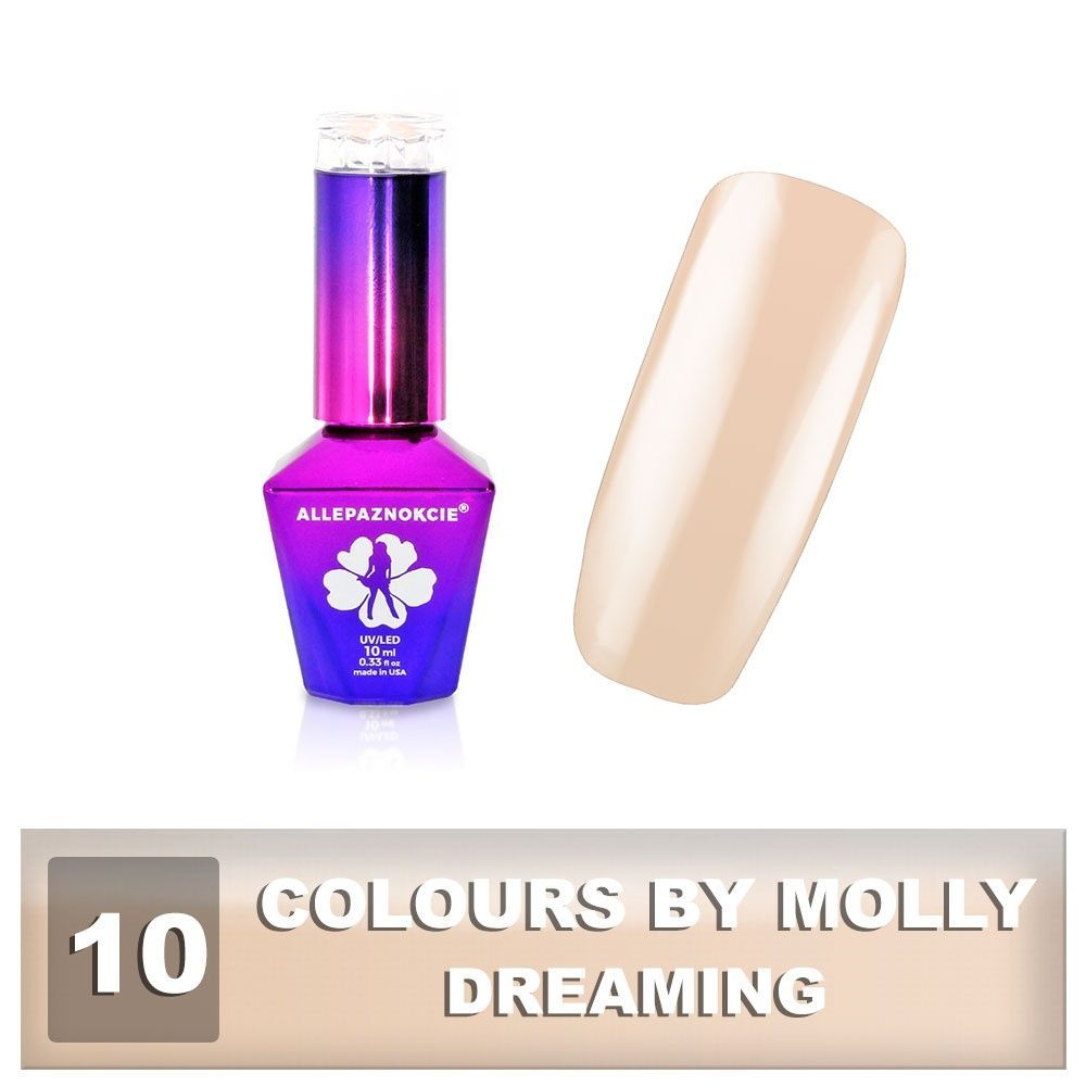 Gel lak Colours by Molly 10ml - Dreaming