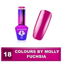Gel lak Colours by Molly 10ml - Fuchsia