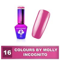 16 Gel lak Colours by Molly 10ml - Incognito (A)