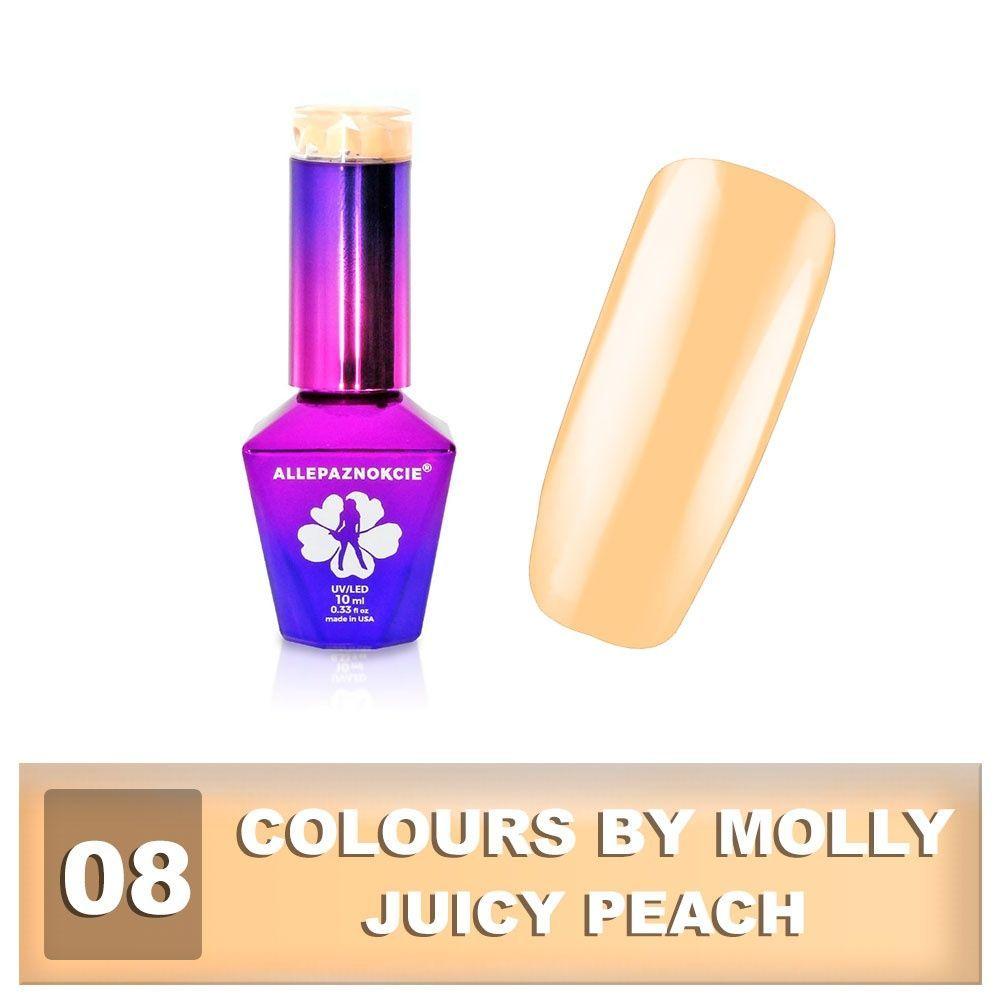 Gel lak Colours by Molly 10ml - Juicy Peach