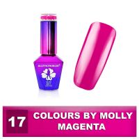 17 Gel lak Colours by Molly 10ml - Magenta (A)