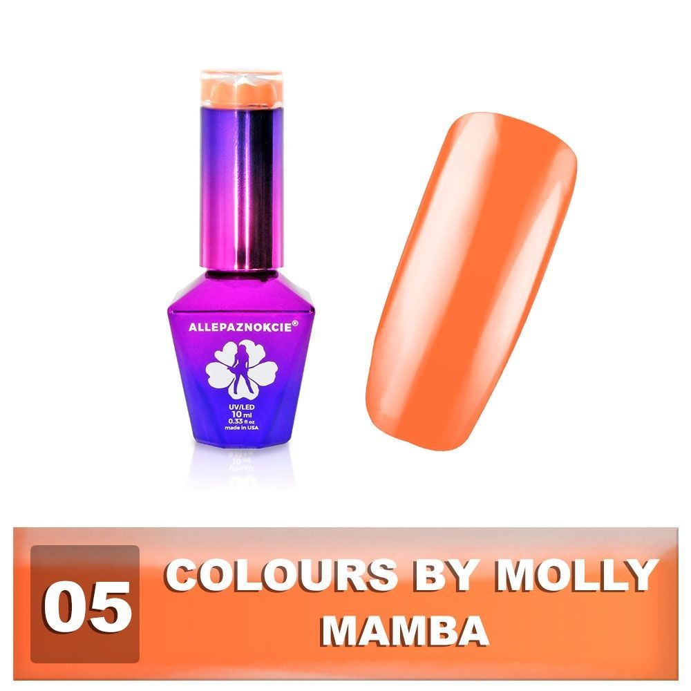 Gel lak Colours by Molly 10ml - Mamba