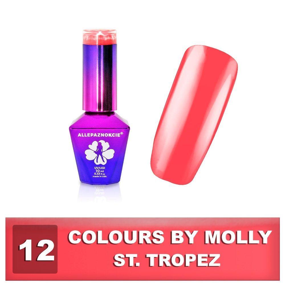 Gel lak Colours by Molly 10ml - St.Tropez