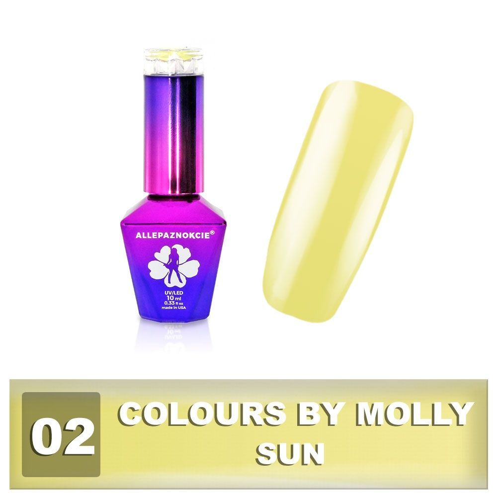 Gel lak Colours by Molly 10ml - Sun