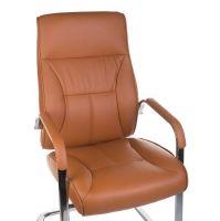 Konferenční křeslo CorpoComfort BX-5085C oranžovo-hnědé