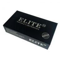 Tetovací jehly - cartridge RL 0.35mm long taper ELITE II (s membránou)