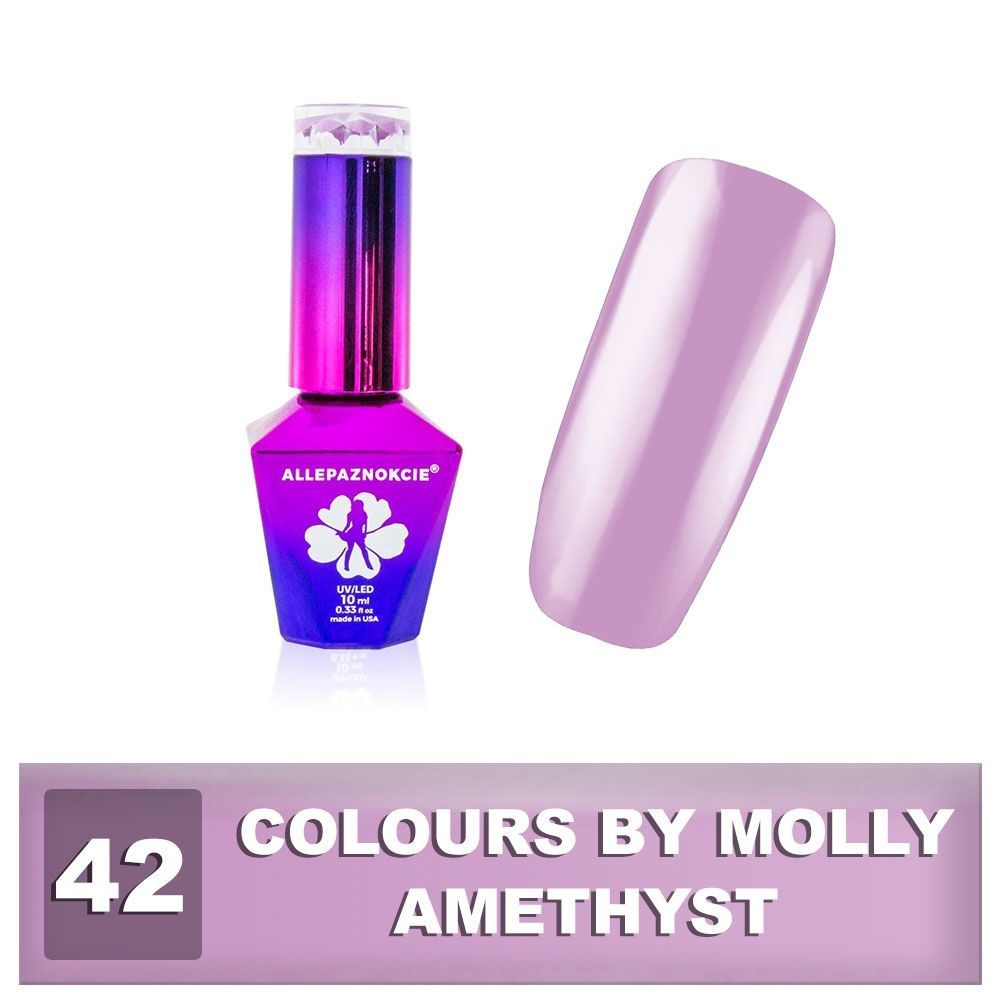 Gel lak Colours by Molly 10ml - Amethyst