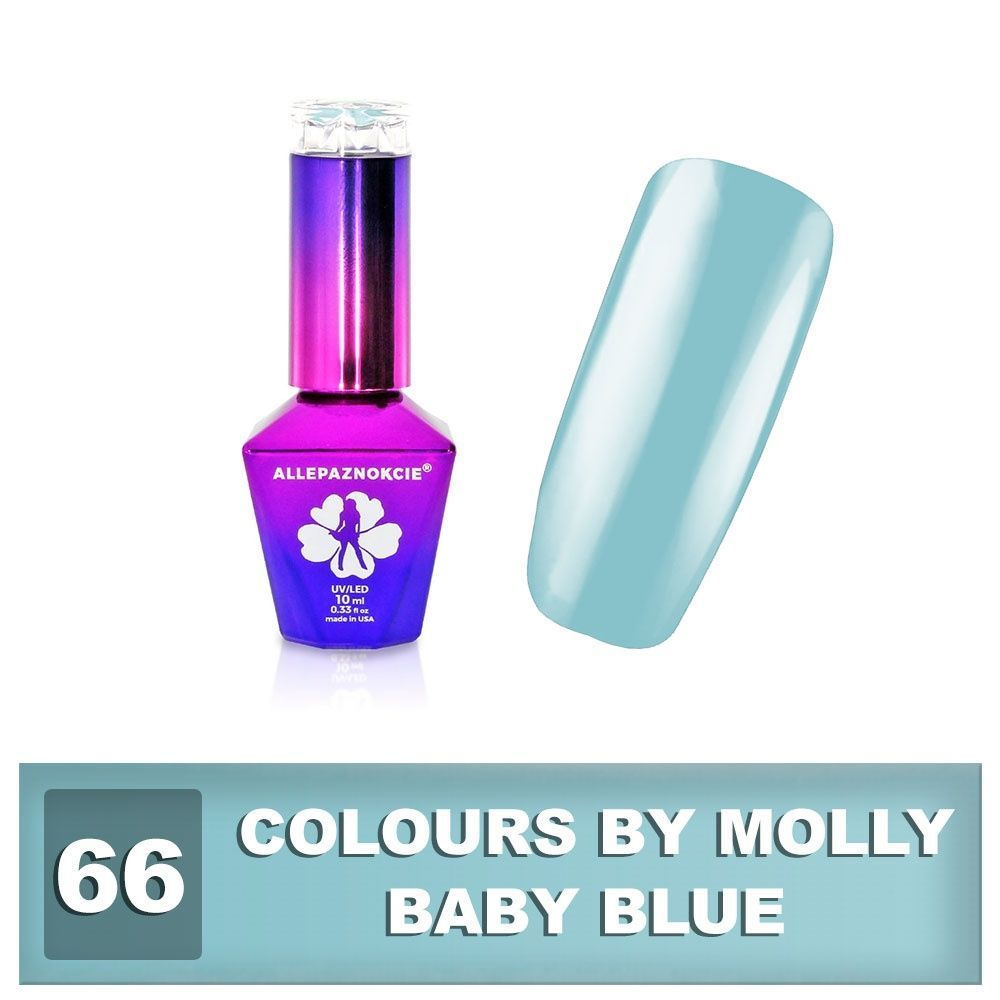Gel lak Colours by Molly 10ml - Baby Blue
