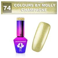 74 Gel lak Colours by Molly 10ml - Champagne (A)
