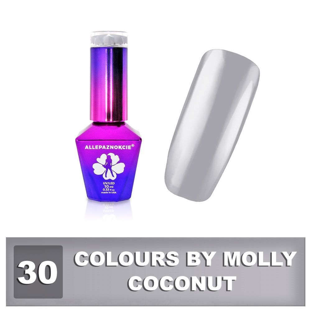 Gel lak Colours by Molly 10ml - Coconut