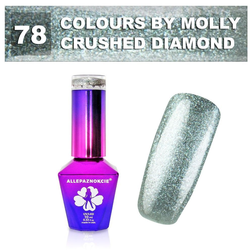 Gel lak Colours by Molly 10ml - Crushed Diamond