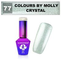 77 Gel lak Colours by Molly 10ml - Crystal (A)