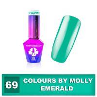 69 Gel lak Colours by Molly 10ml - Emerald (A)