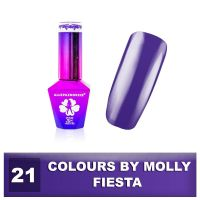 Gel lak Colours by Molly 10ml - Fiesta