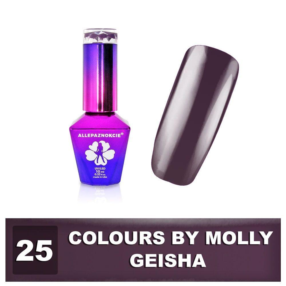 Gel lak Colours by Molly 10ml - Geisha