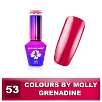 53 Gel lak Colours by Molly 10ml - Grenadine (A)