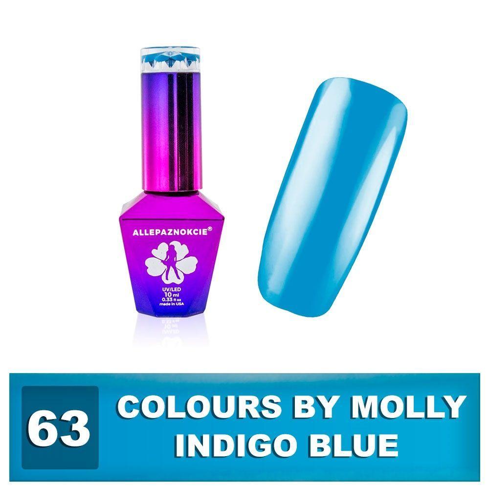 Gel lak Colours by Molly 10ml - Indigo Blue