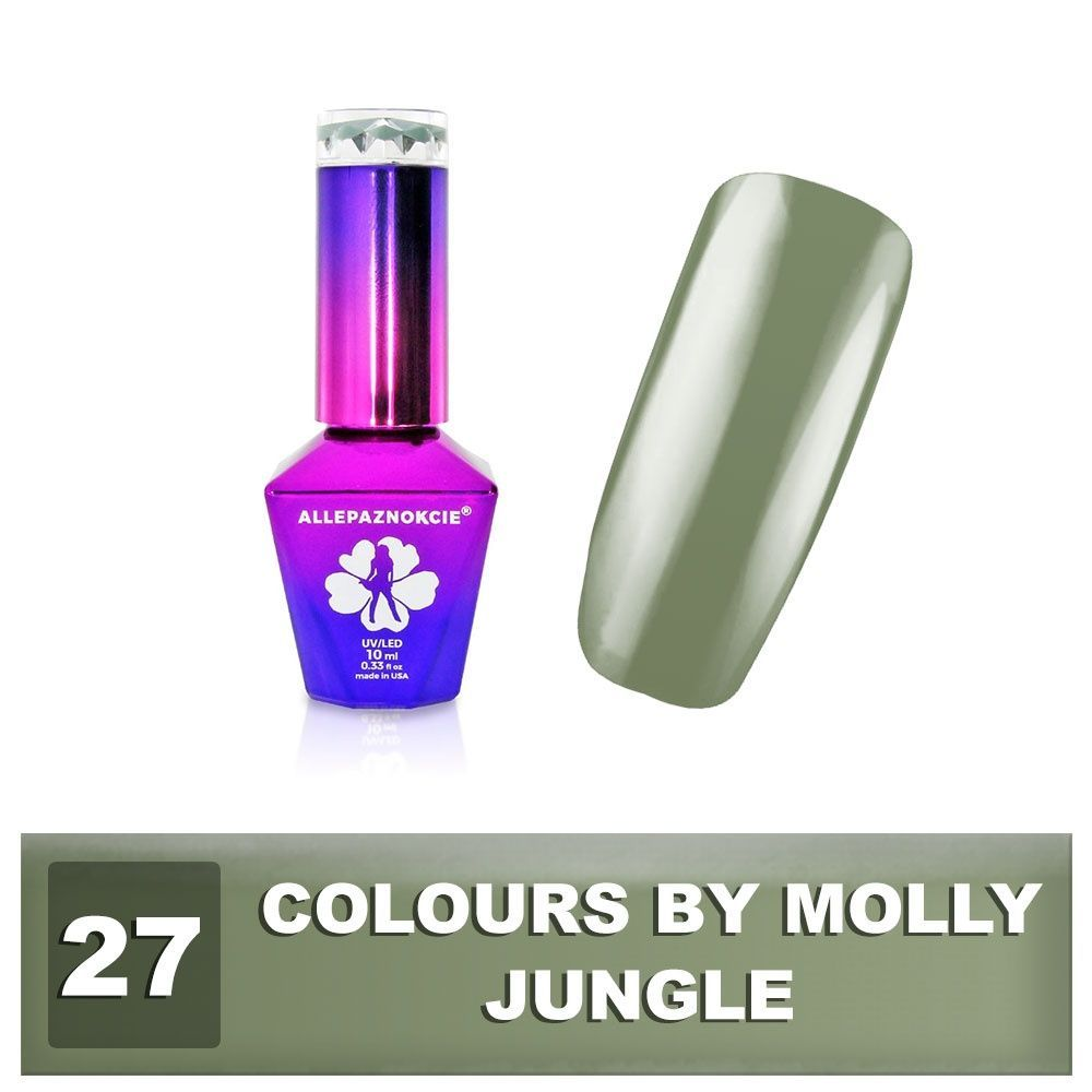 Gel lak Colours by Molly 10ml - Jungle