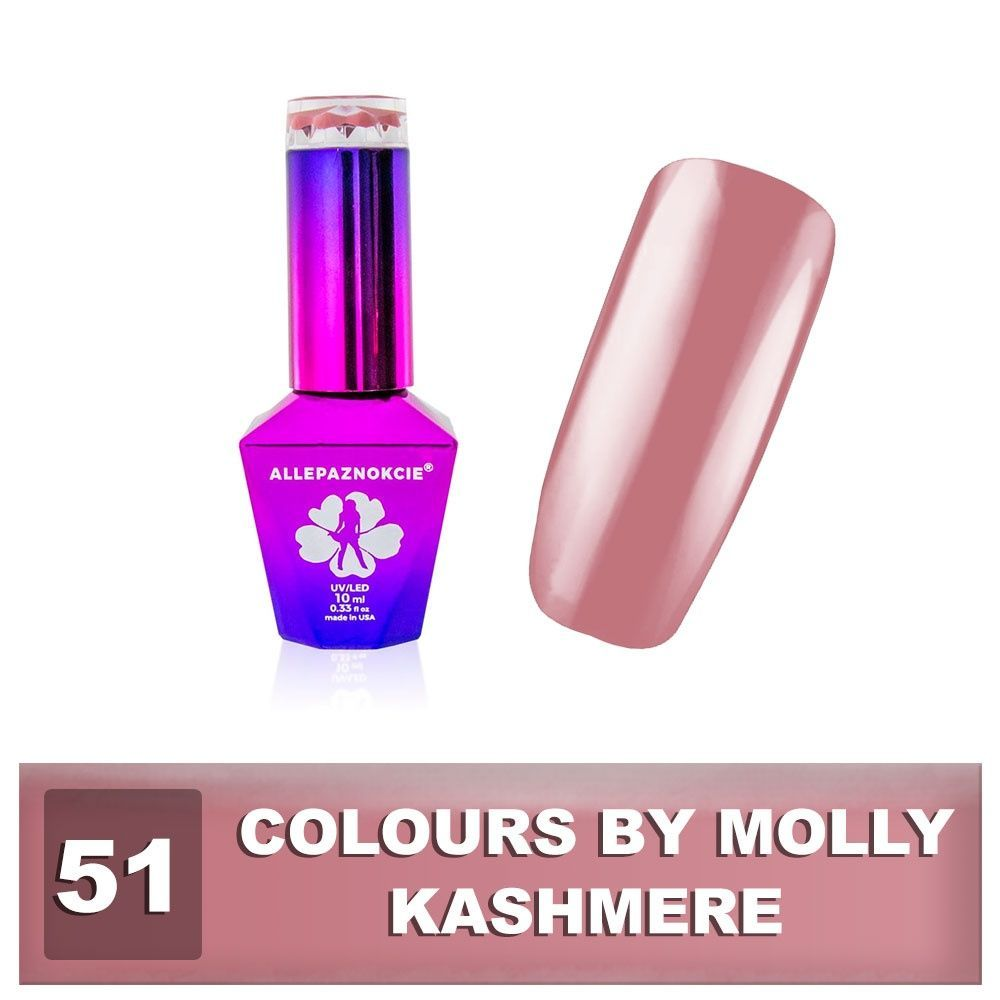 Gel lak Colours by Molly 10ml - Kashmere
