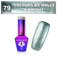 79 Gel lak Colours by Molly 10ml - Midnight (A)