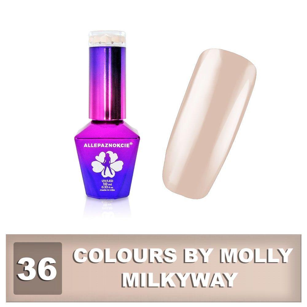 Gel lak Colours by Molly 10ml - Milkyway