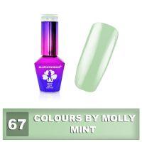 67 Gel lak Colours by Molly 10ml - Mint (A)