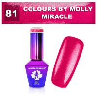 81 Gel lak Colours by Molly 10ml - Miracle (A)