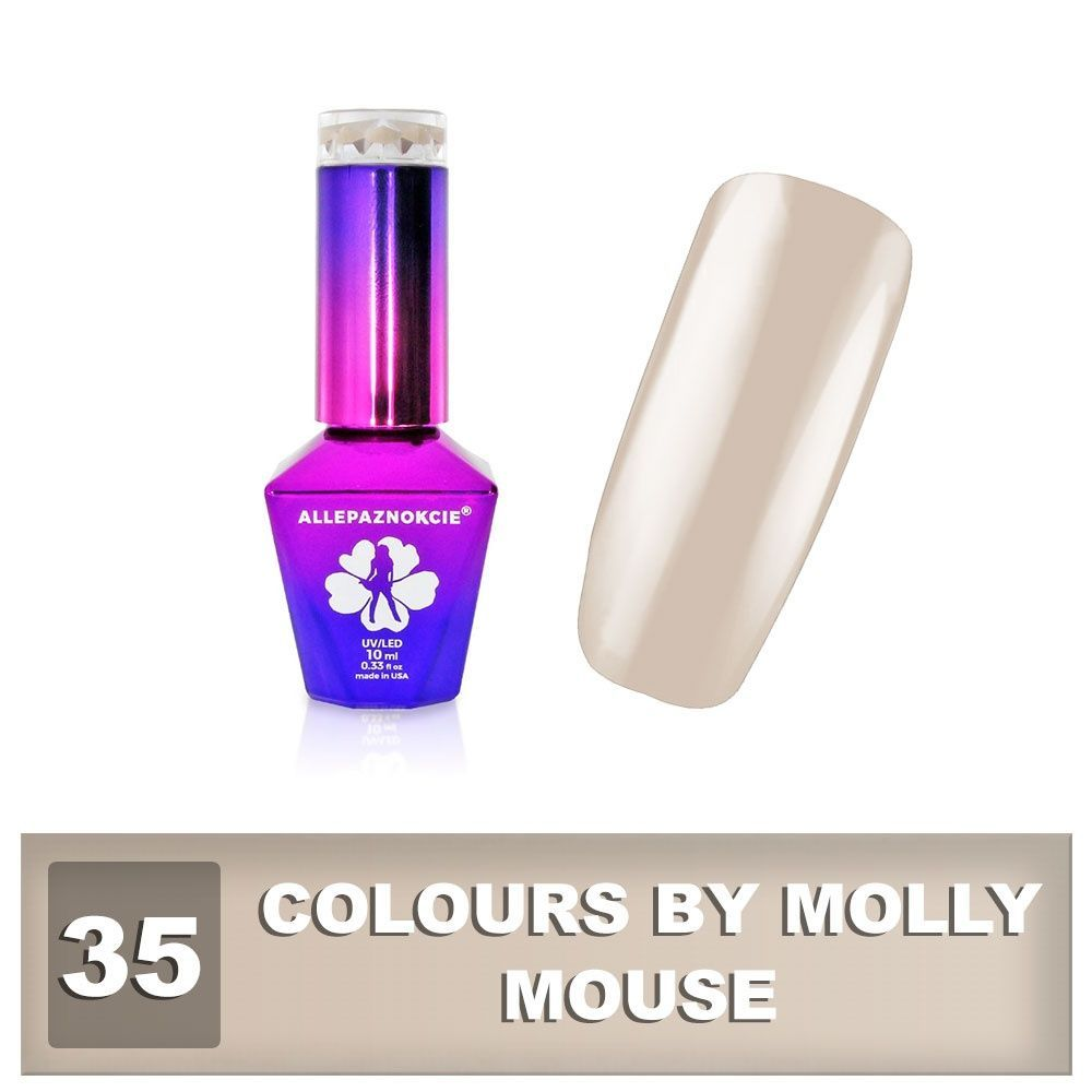 Gel lak Colours by Molly 10ml - Mouse