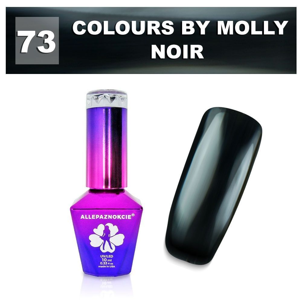 Gel lak Colours by Molly 10ml - Noir