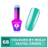 68 Gel lak Colours by Molly 10ml - Pastel Green (A)