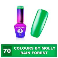 70 Gel lak Colours by Molly 10ml - Rain Forest (A)