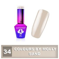 34 Gel lak Colours by Molly 10ml - Sand (A)