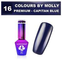 Gel lak Colours by Molly PREMIUM 10ml -CAPITAN BLUE-