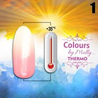 Gel lak Colours by Molly Thermo 01 - 10ml (A)