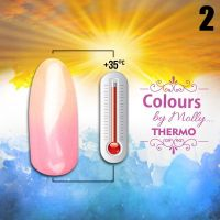 Gel lak Colours by Molly Thermo 02 - 10ml (A)
