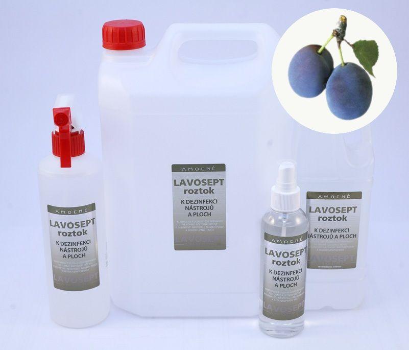Lavosept® dezinfekce na nástroje a plochy 1000 ml náhradní náplň - aroma trnka