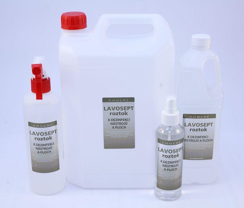 Lavosept® dezinfekce na nástroje a plochy 500 ml rozprašovač - bez aroma