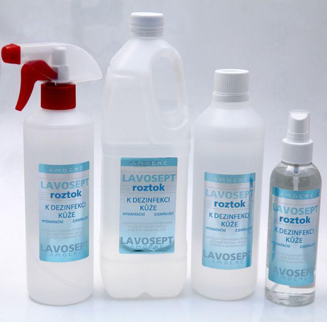 Lavosept® roztok - dezinfekce 200 ml sprej - bez aroma
