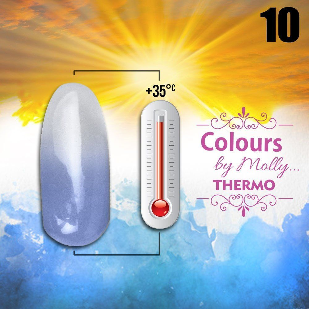 Gel lak Colours by Molly Thermo 10 - 10ml