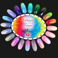 Gel lak Colours by Molly Thermo 17 - 10ml