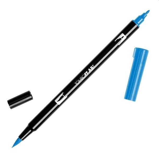 Oboustranné pero - TOMBOW modré