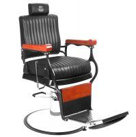 Barbers - holičské křeslo GABBIANO MASTER černé (AS)