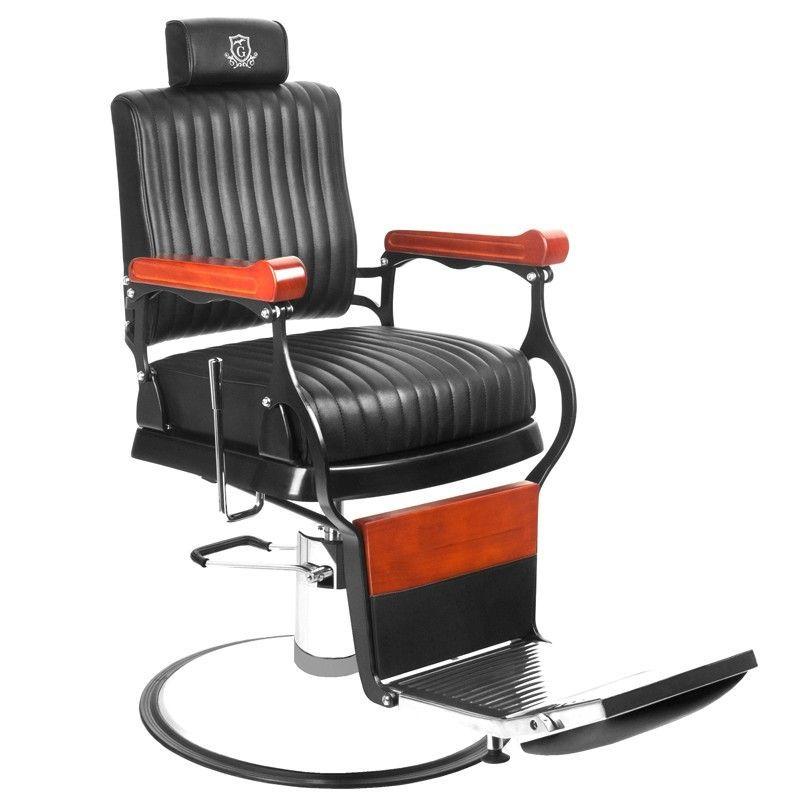 Barbers - holičské křeslo GABBIANO MASTER černé