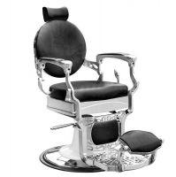 Barbers - holičské křeslo GABBIANO PRESIDENT černé (AS)