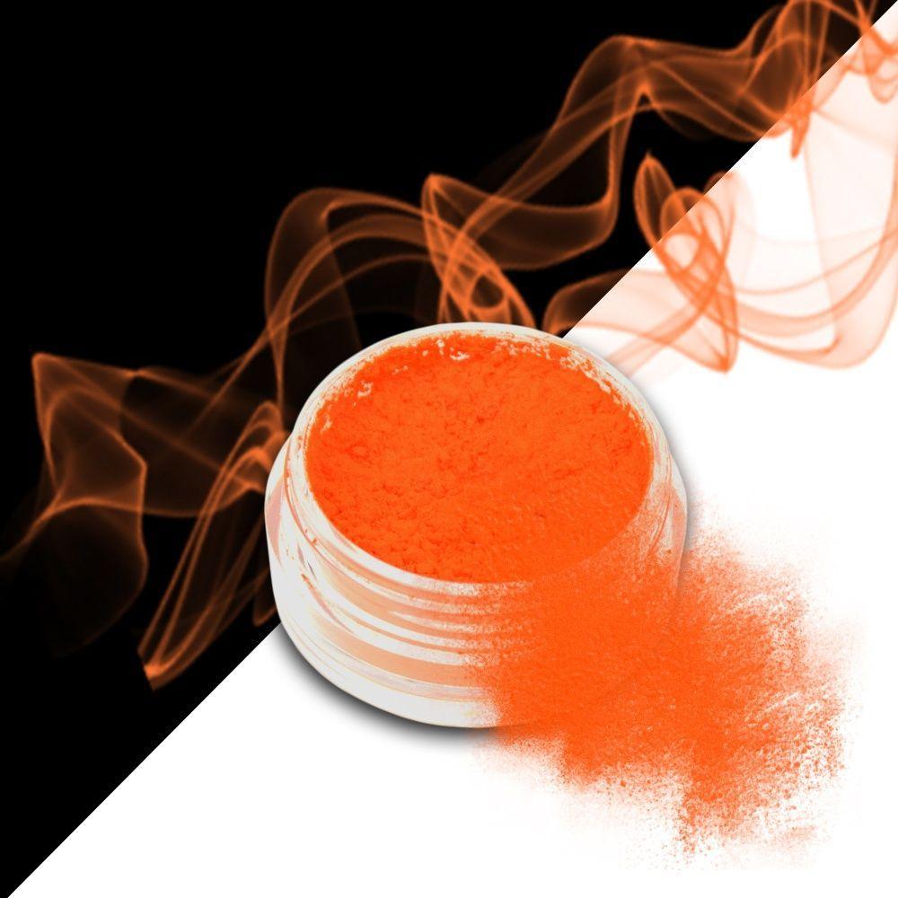 Nehtový pyl SMOKE NAILS - kouřový efekt 05 NEON ORANGE